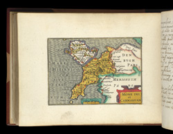 Map of Caernarvonshire and Anglesey, from Atlas of the British Isles, Pieter Van Den Keere